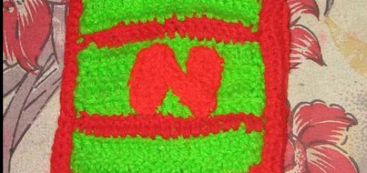 Crochet Letter N