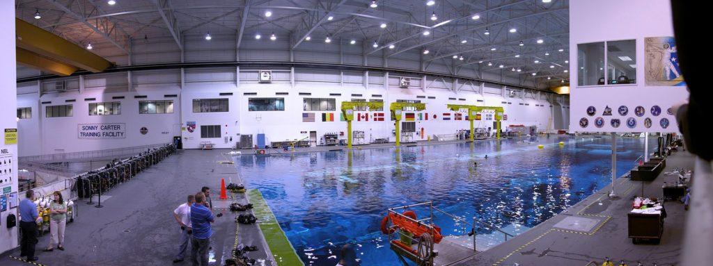 NASA - Neutral Buoyancy Lab Image Courtesy: Wikipedia Commons